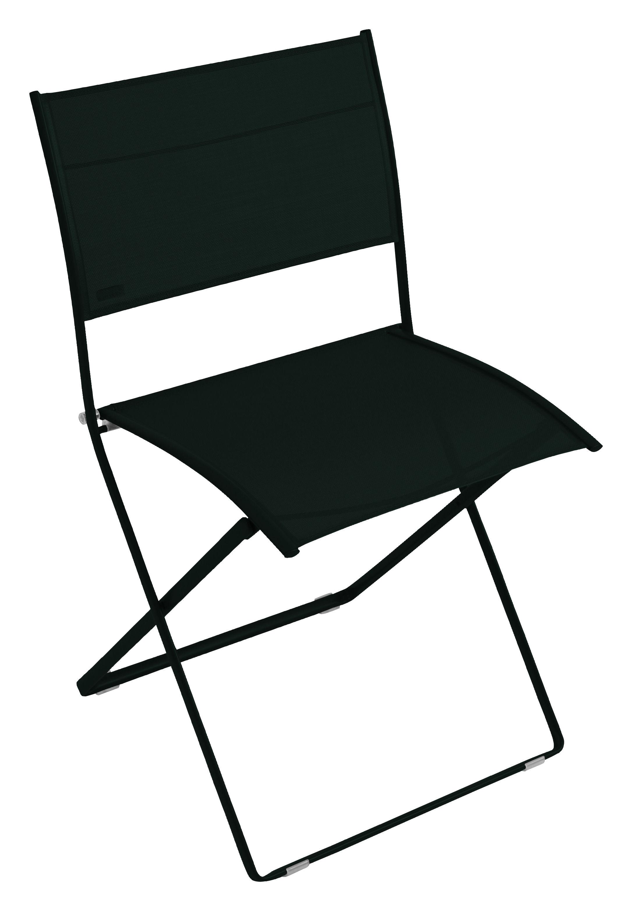 chaise pliante plein air toile r glisse fermob. Black Bedroom Furniture Sets. Home Design Ideas