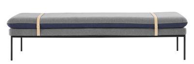 Turn Sofa / L 190 cm - Ferm Living - Hellgrau,Nachtblau