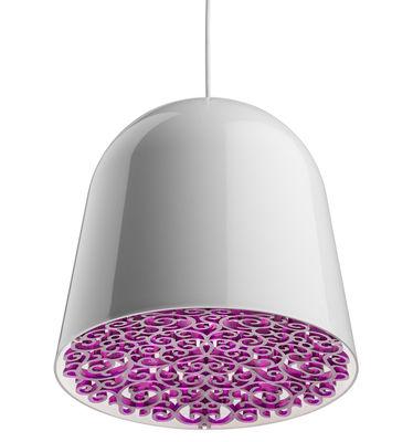 suspension can can blanc frise violette flos. Black Bedroom Furniture Sets. Home Design Ideas