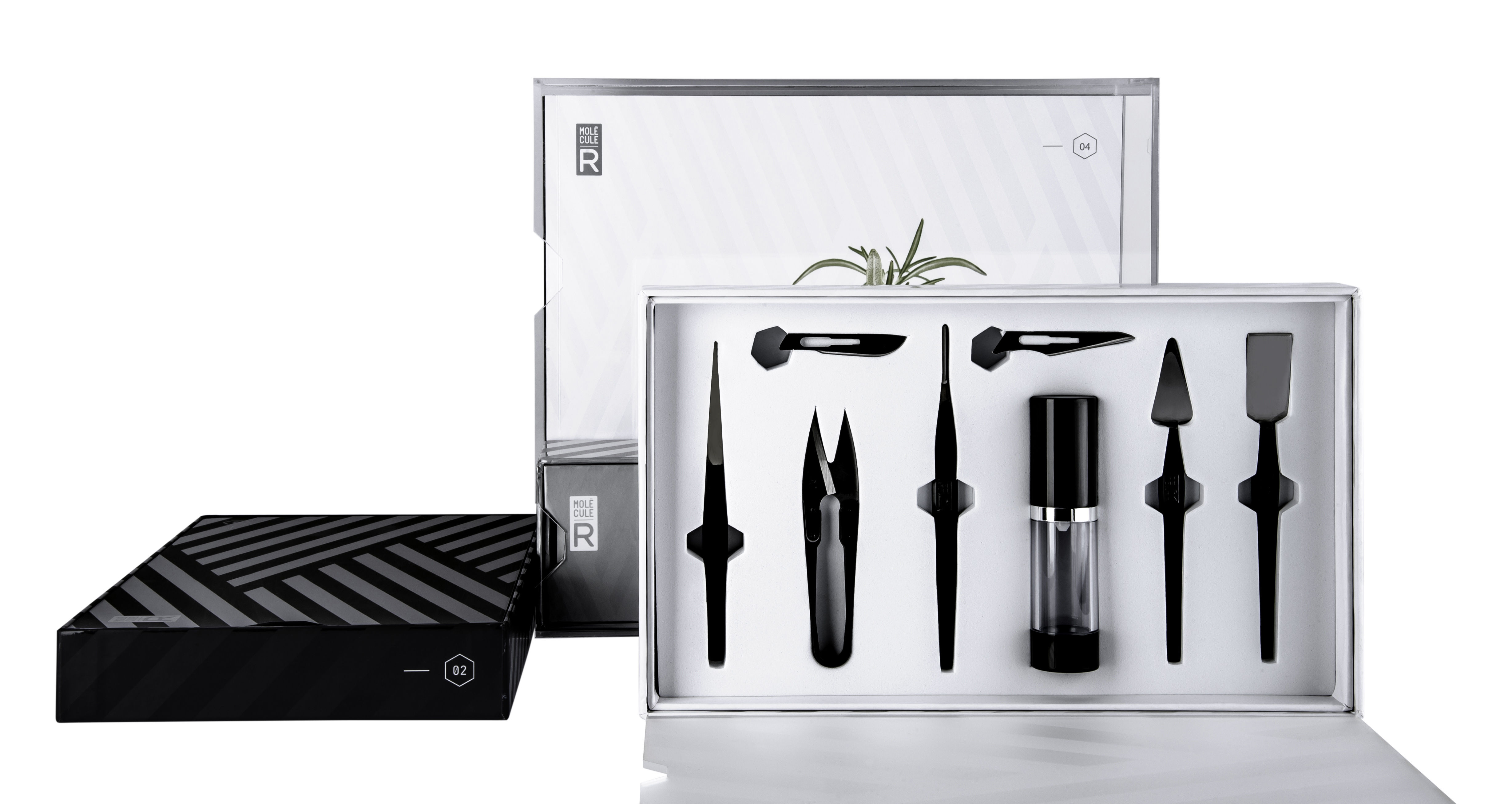 Kit cuisine mol culaire molecular styling kit 19 for Kit ustensiles cuisine