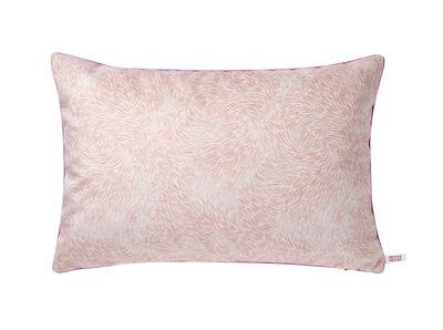 Coussin Volutes / 60 x 40 cm - Petite Friture rose,rouge en tissu