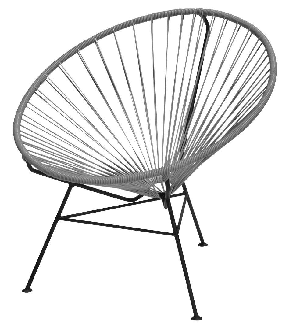 fauteuil bas condesa gris ok design pour sentou edition. Black Bedroom Furniture Sets. Home Design Ideas