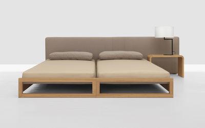 set guest 2 lits empilables 80 x 200 cm avec matelas ch ne zeitraum made in design. Black Bedroom Furniture Sets. Home Design Ideas