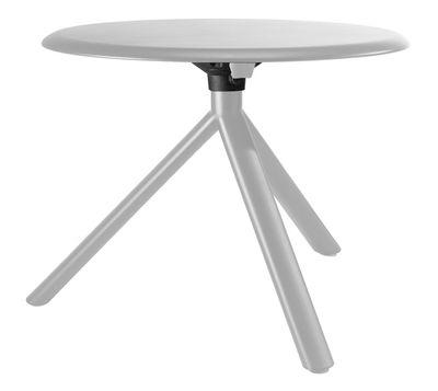 Tavolino Miura di Plank - Bianco - Metallo