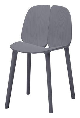 Chaise Osso / Frêne teinté - Mattiazzi gris en bois