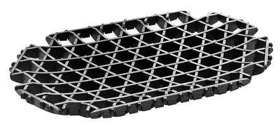 Déco - Corbeilles, centres de table, vide-poches - Plateau Cross / Bois - 36 cm x 22 cm - Spécimen Editions - Noir - Contreplaqué de frêne