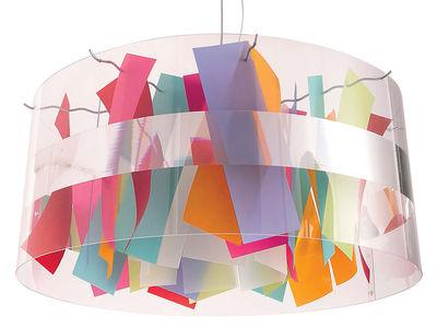 Luminaire - Suspensions - Suspension Holo Mexico Ø 64 cm - Dix Heures Dix - Multicolore - Ø 64 cm - Papier, Polyester