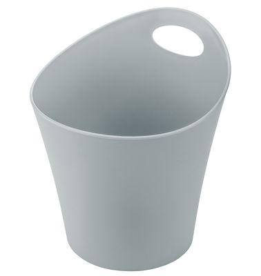 Pot Pottichelli L / Cache-pot - Ø 21 x H 23 cm - Koziol gris clair en matière plastique