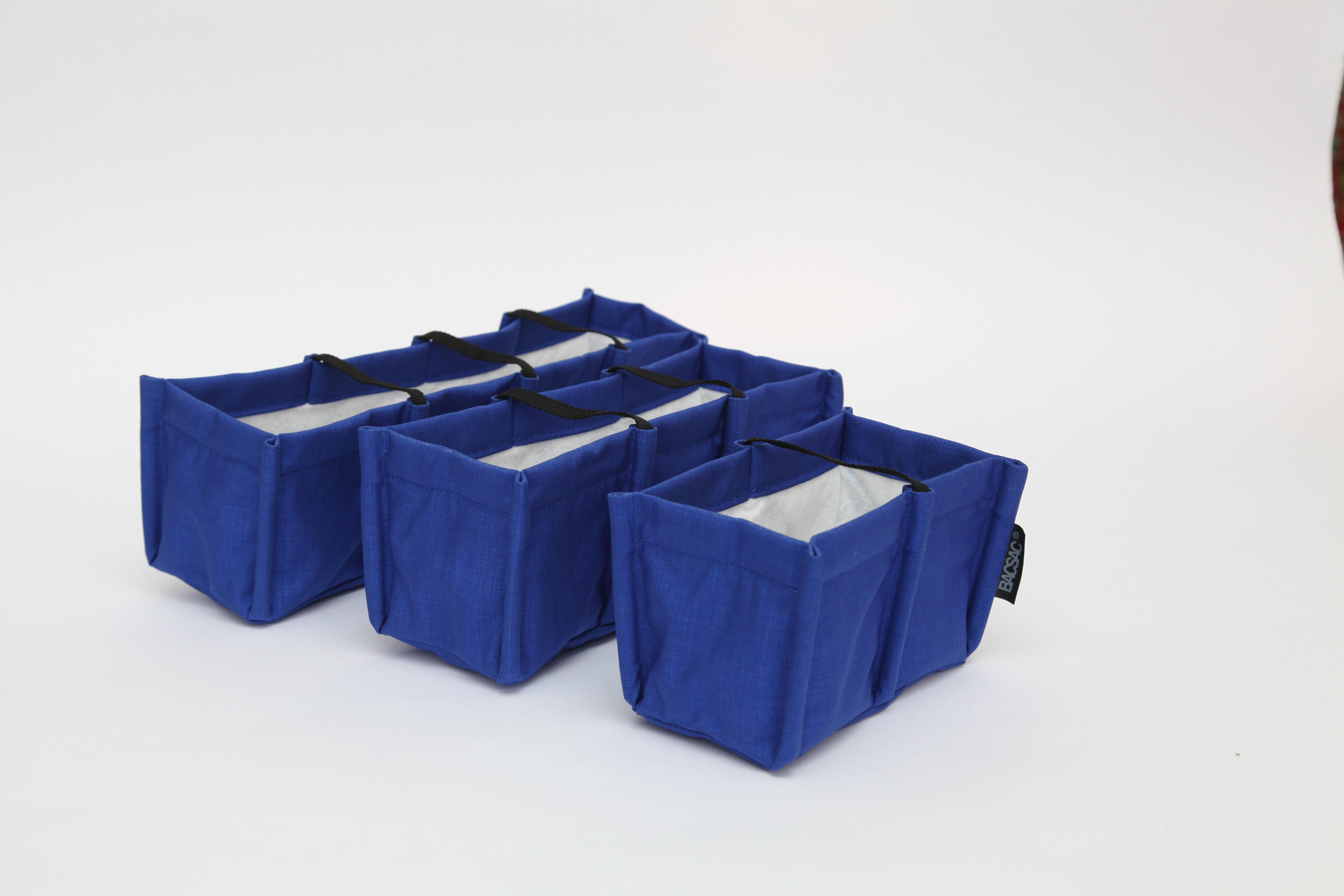 jardini re mini baclong indoor 3 5l 3 carr s 3 5l bleu majorelle bacsac. Black Bedroom Furniture Sets. Home Design Ideas