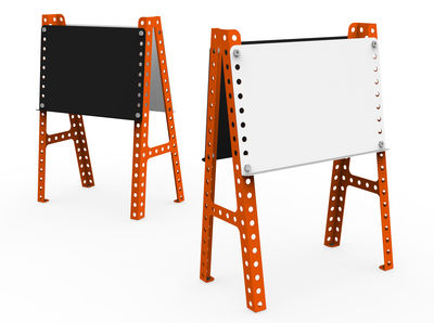 tableau enfant ardoise tableau blanc orange meccano home. Black Bedroom Furniture Sets. Home Design Ideas