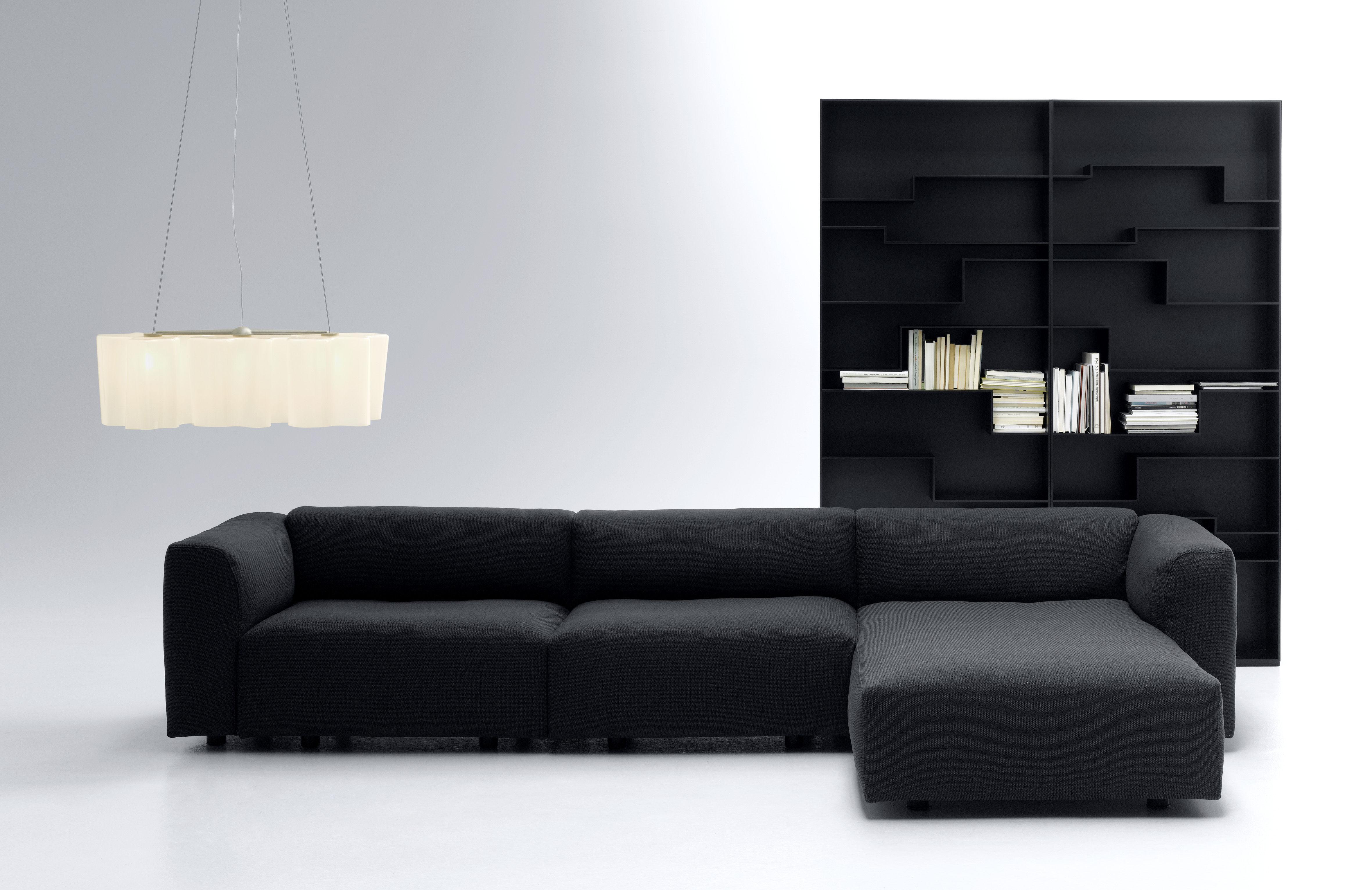 melody bookcase black by mdf italia. Black Bedroom Furniture Sets. Home Design Ideas