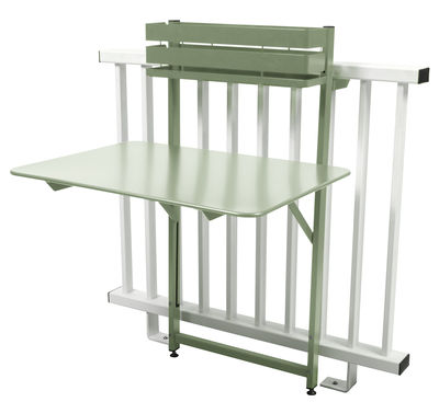 Table pliante balcon bistro rabattable 77 x 64 cm for Table de balcon rabattable