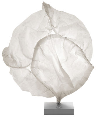 Leuchten - Tischleuchten - Cloud Tischleuchte - Belux - Ø 48 cm - gebrochenes Weiß - Polyesterfaser