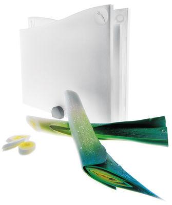 Foto Tagliere - lotto da 3 con supporto di Eva Solo - Bianco - Materiale plastico