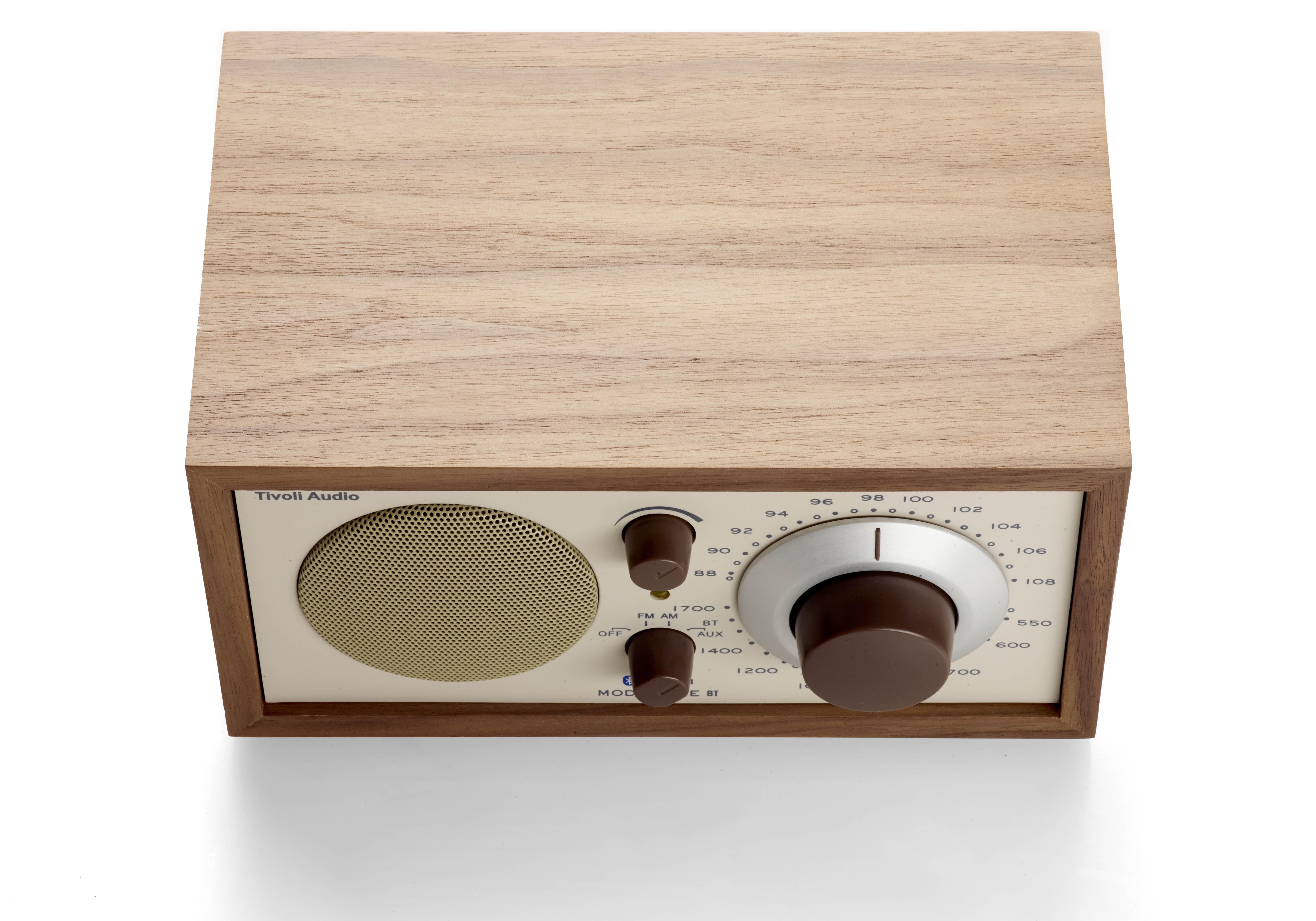 radio model one bt enceinte bluetooth noyer beige tivoli audio. Black Bedroom Furniture Sets. Home Design Ideas