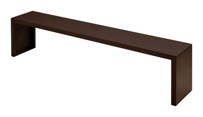 Foto Panchina Rusty Irony - L 210 cm di Zeus - Ruggine - Metallo