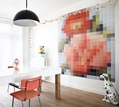 Tableau Patchwork Flower / 200 x 220 cm - ixxi multicolore en papier