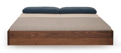Mobilier - Lits - Lit double Simple - 160 x 200 - Sans matelas - Zeitraum - 160 x 200 cm - Noyer - Noyer massif