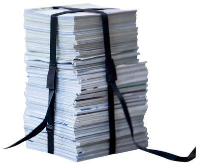 Möbel - Hocker - Book Hocker - ENOstudio - Schwarz - Nylon