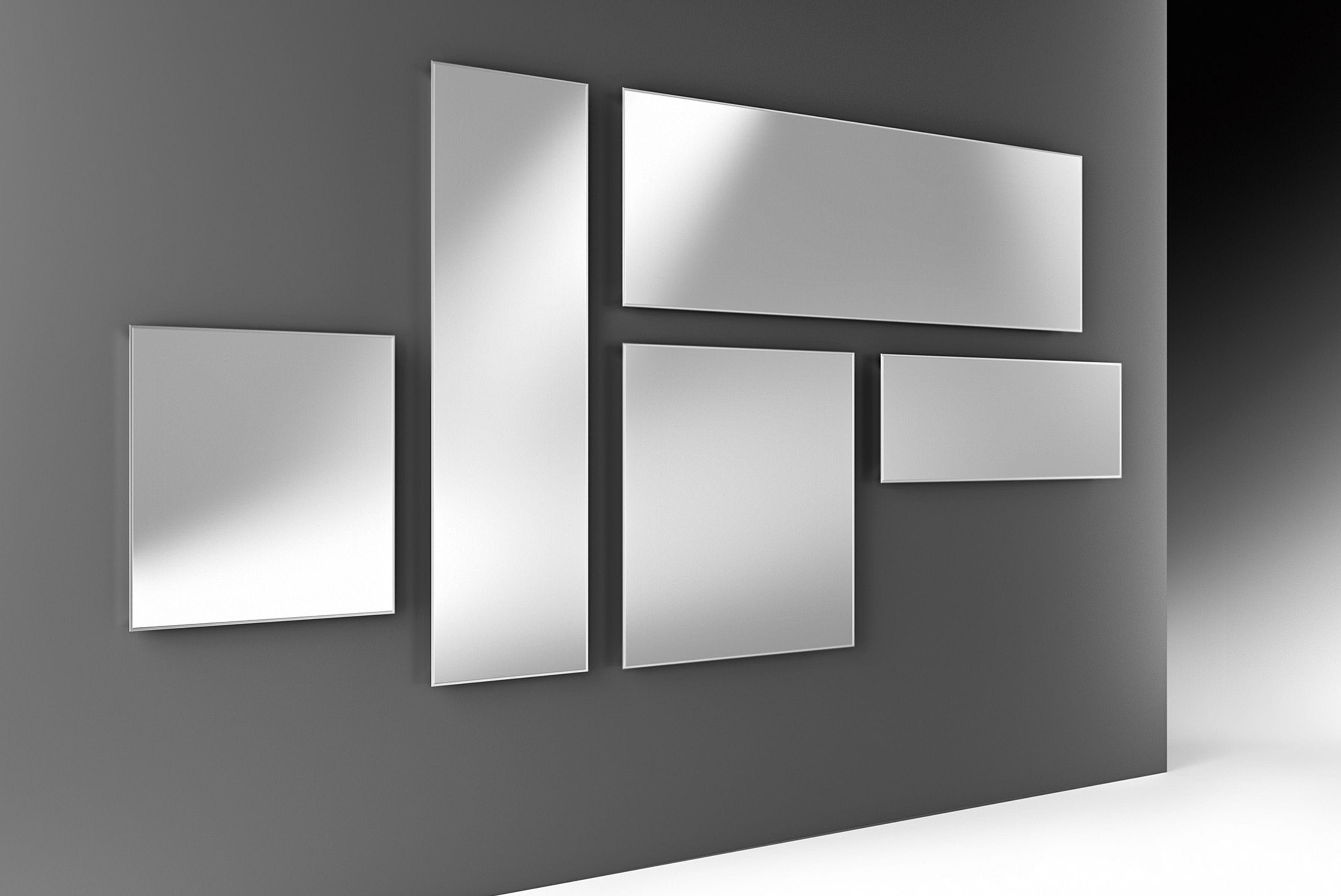 Miroir mural mirage 120 x 40 cm miroir fiam for Miroir 40x120