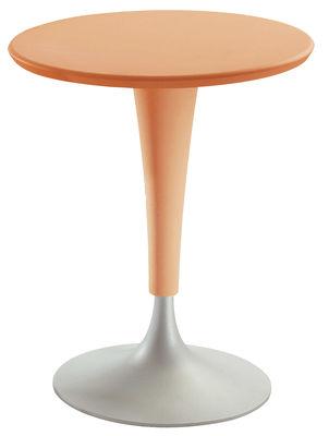 tavolo da giardino Dr. Na di Kartell - Arancione - Materiale plastico