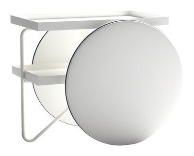Carrello/tavolo d'appoggio Chariot di Casamania - Bianco - Legno