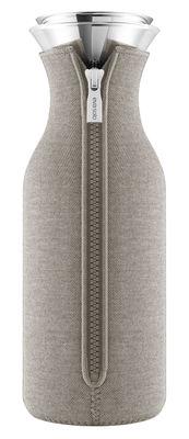 Carafe Stoppe goutte 1 L Tissu technique Eva Solo gris chaud en métal