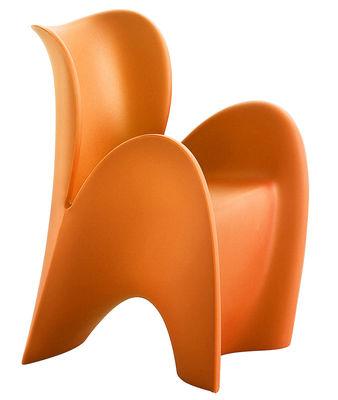 Poltrona Lily Small di MyYour - Arancio opaco - Materiale plastico