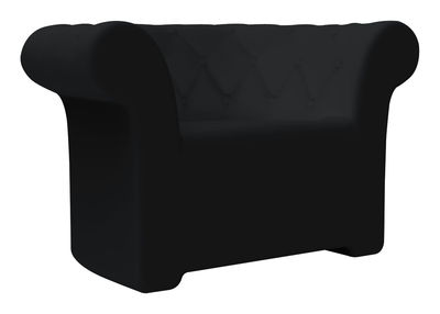 Poltrona Sirchester di Serralunga - Nero - Materiale plastico
