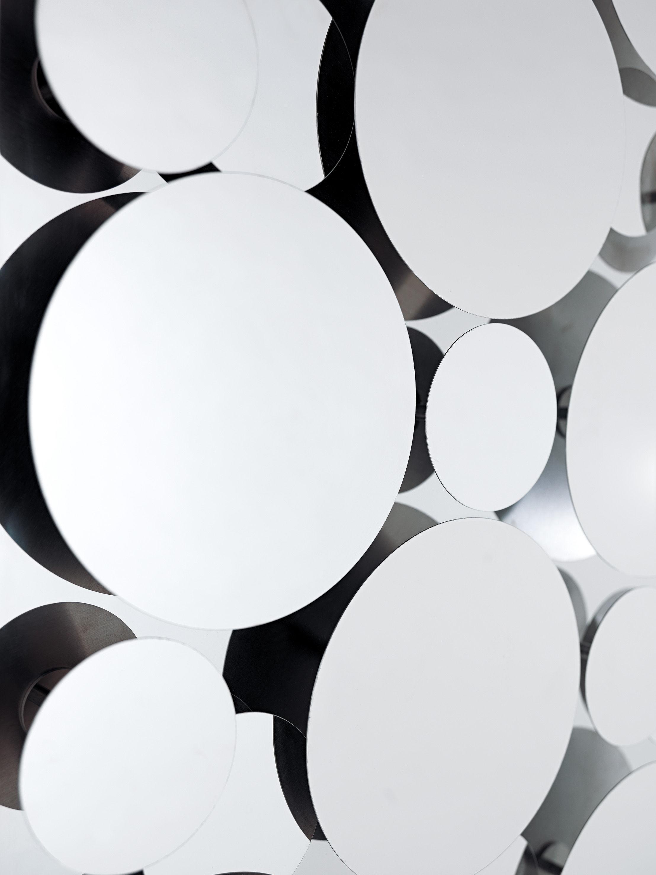 Miroir mural gag 90 x 58 cm acier poli opinion ciatti for Miroir 110 x 90