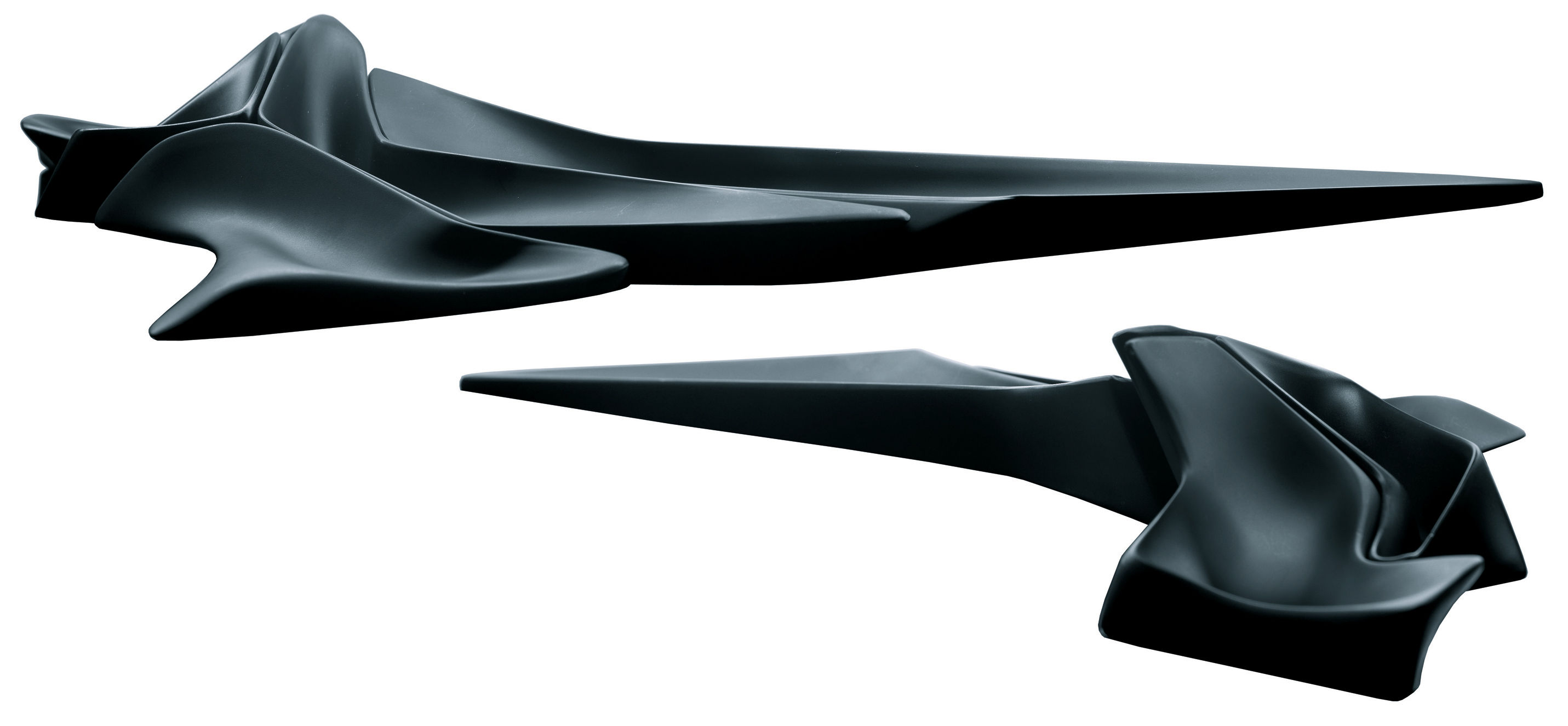 centre de table niche modulable l 60 cm noir alessi made in design. Black Bedroom Furniture Sets. Home Design Ideas