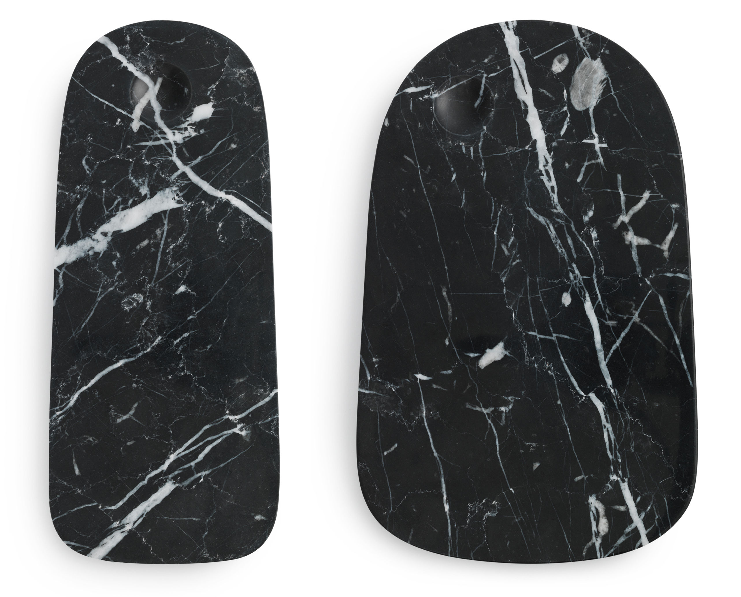 Pebble Large Chopping Board Large Marble 18 X 30 Cm