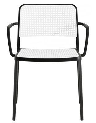 Audrey Stapelbarer Sessel Gestell lackiert - Kartell - Weiß