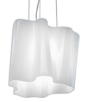 Lighting - Suspensions - Logico Micro Pendant - Simple by Artemide - White - Micro - Blown glass
