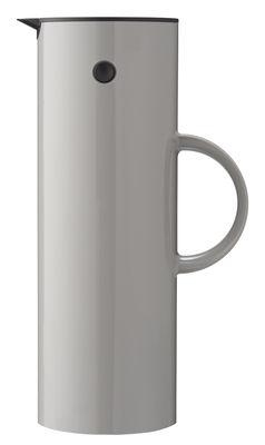Pichet isotherme Classic 1 L Stelton gris clair en matière plastique