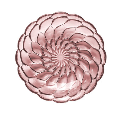 Arts de la table - Assiettes - Assiette creuse Jellies Family / Ø 22 cm - Kartell - Rose - Technopolymère thermoplastique