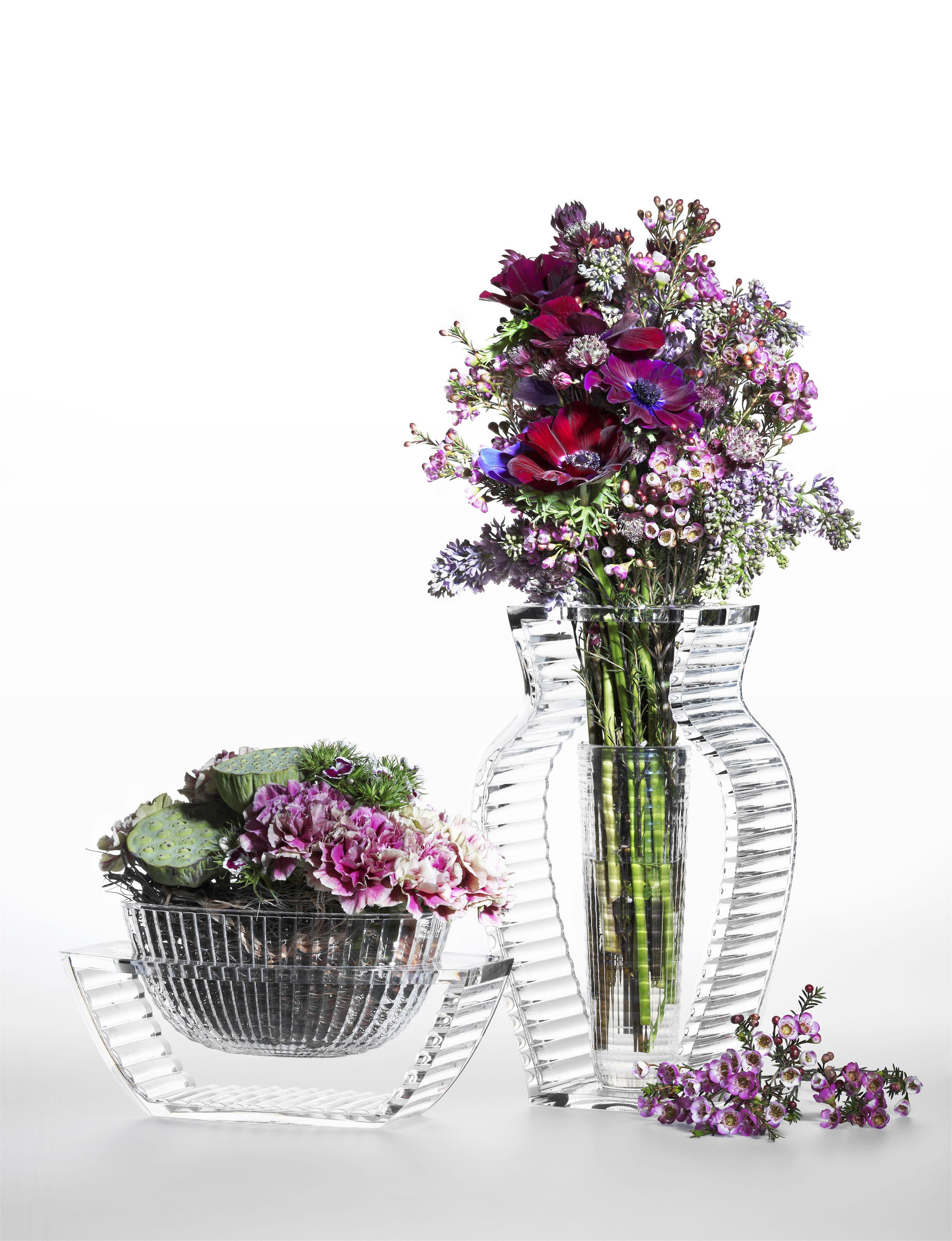 Vase i shine cristal kartell for Oggettistica moderna