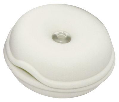 Image of Porta cavo Cable Turtle - Mini di Pop Corn - Bianco - Materiale plastico