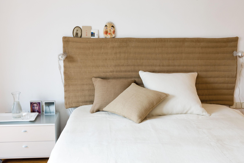 Scopri testata letto testa bauma bauma beige di - Testata letto design ...