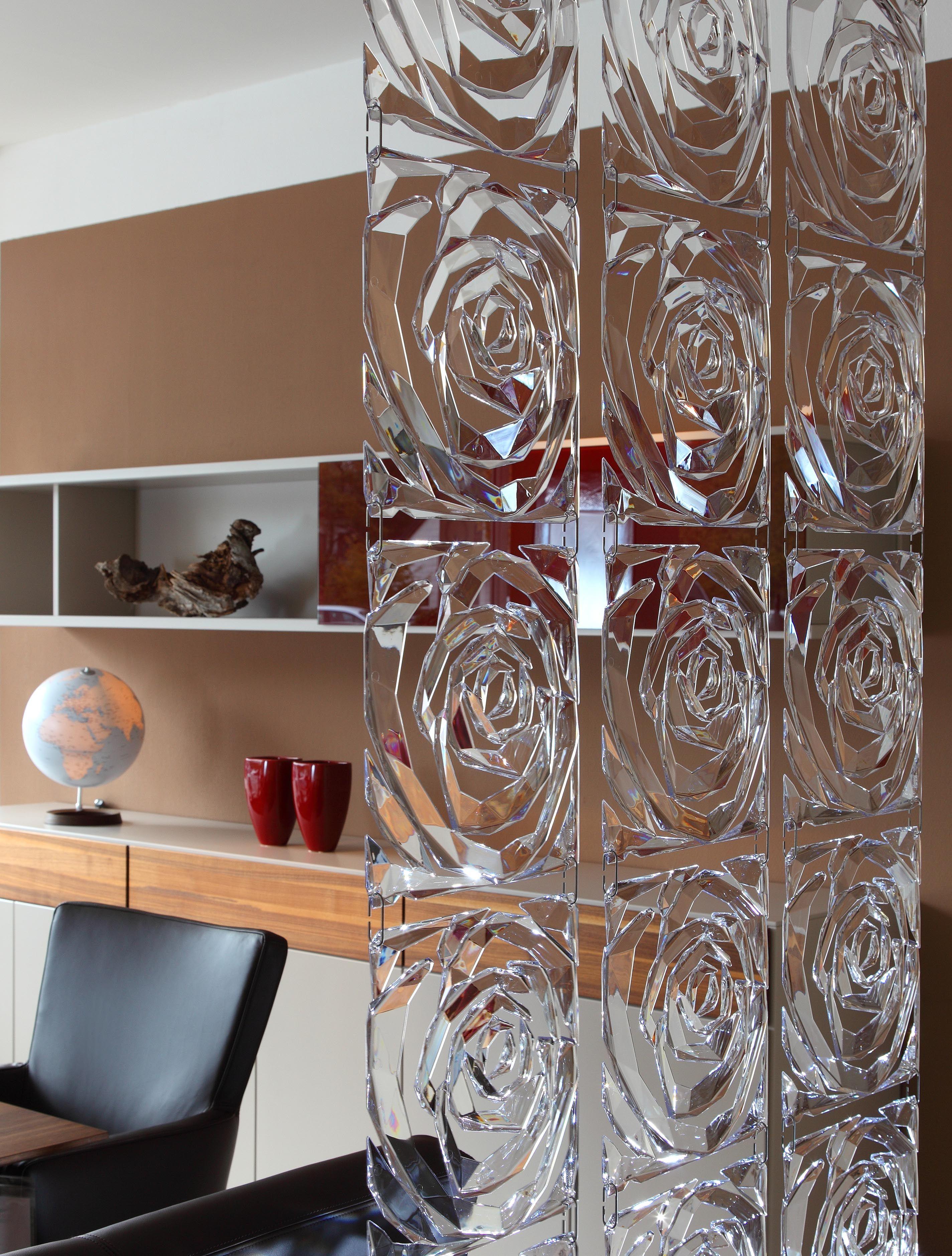 cloison romance set de 4 crochets inclus rouge. Black Bedroom Furniture Sets. Home Design Ideas