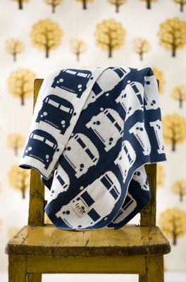 plaid enfant rush hour 100 x 80 cm bleu p trole fond tuquoise ferm living. Black Bedroom Furniture Sets. Home Design Ideas