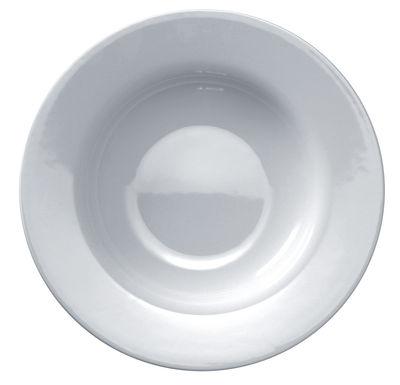 Assiette creuse Platebowlcup Ø 22 cm - A di Alessi blanc en céramique