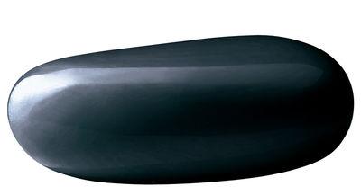 Foto Pouf Koishi - / Tavolino basso di Driade - Grigio antracite - Materiale plastico