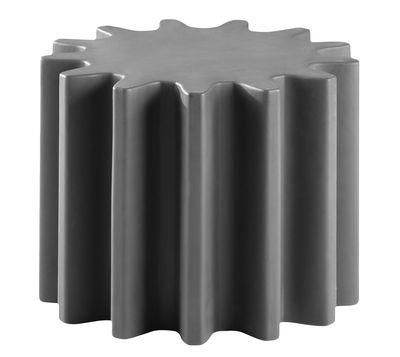 Tavolino Gear - /Sgabello di Slide - Grigio - Materiale plastico