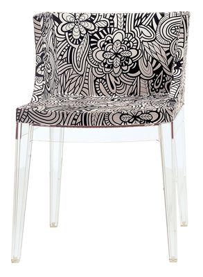Mademoiselle Missoni Gepolsterter Sessel - Kartell - Weiß,Schwarz