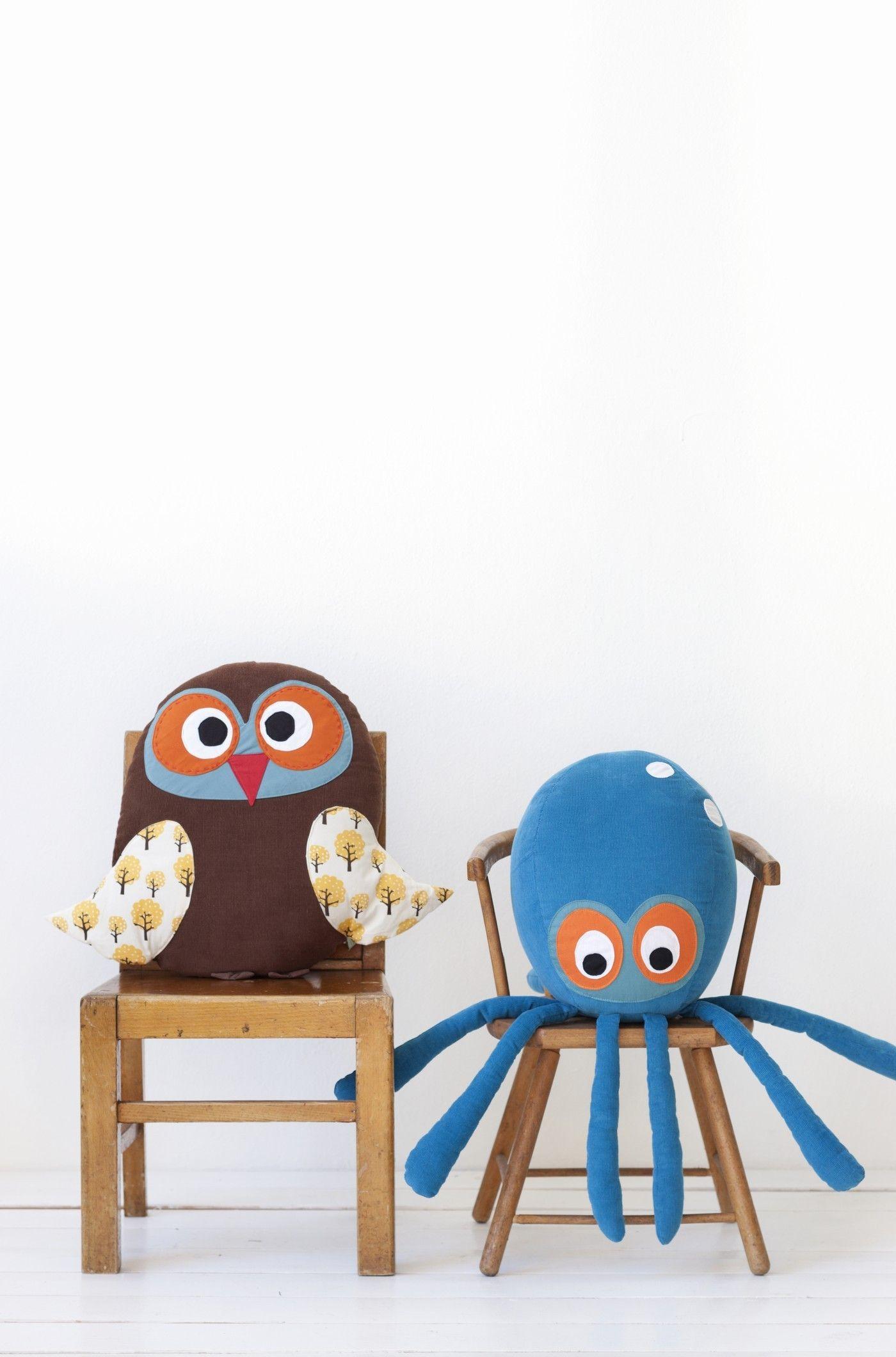 octopus ferm living kissen. Black Bedroom Furniture Sets. Home Design Ideas