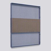Pannello Pinorama Large / H 83 cm - Organizer a parete - Hay - Blu scuro,Sughero - Metallo