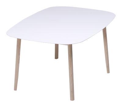 Branca Tisch 110 x 180 cm - Mattiazzi - Weiß,Esche
