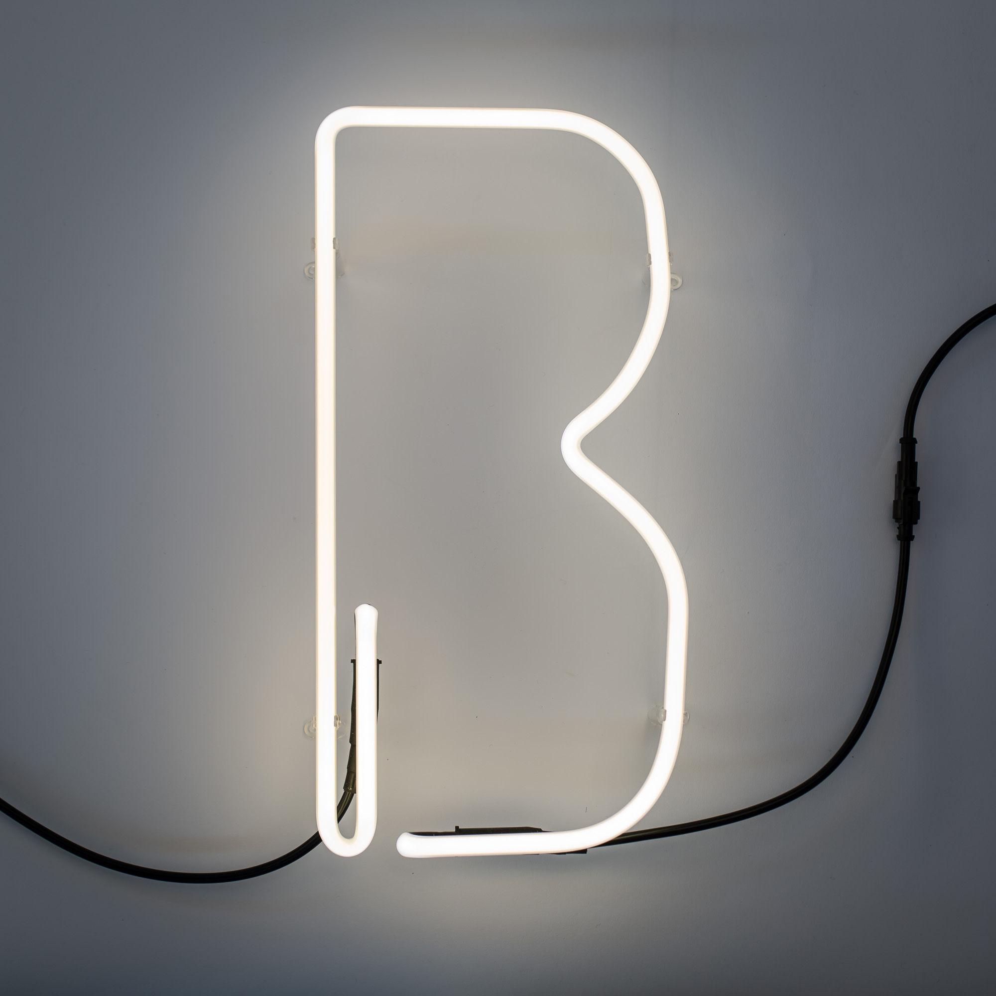 Applique n on alphafont lettre b lettre b seletti - Applique neon design ...