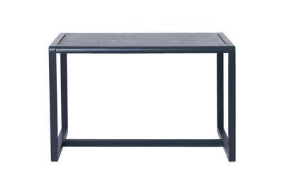 Tavolo bimbi Little Architect - / 4 posti - 76 x 55 cm di Ferm Living - Blu - Legno